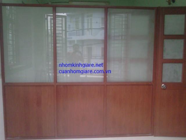Thi công lắp đặt vách ngăn nhôm kính văn phòng cực ĐẸP tại TpHCM