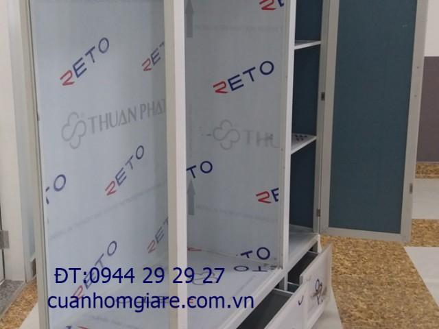 Các mẫu tủ nhôm kính đựng quần áo CAO CẤP chất lượng ĐẸP TpHCM