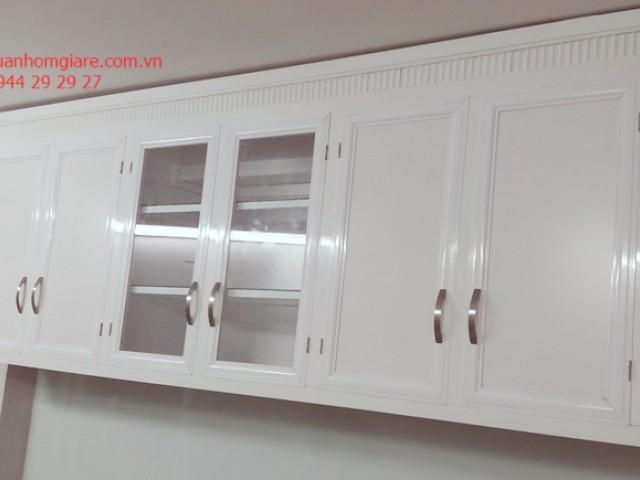 Mẫu tủ bếp nhôm kính treo tường thiết kế đẹp nhất mọi THỜI ĐẠI