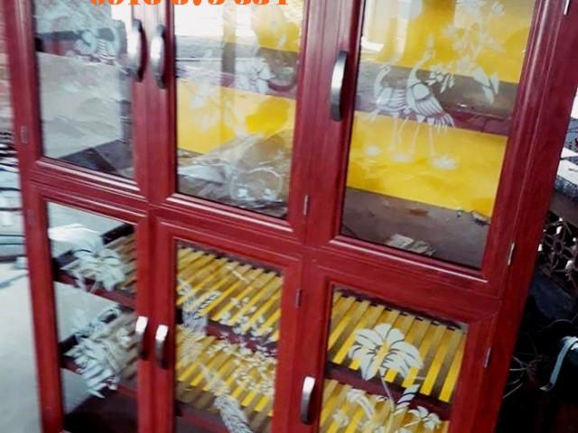 TOP những mẫu tủ chén nhôm kính ĐẸP cao cấp sang trọng tại TpHCM